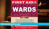 Popular Book  First Aid for the Wards, Fifth Edition (First Aid Series)  For Online