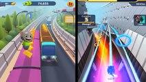 Talking Tom Gold Run Vs Sonic Dash 2: Sonic Boom Run Shadow | Sonic | Tails Unlock Epic Ru