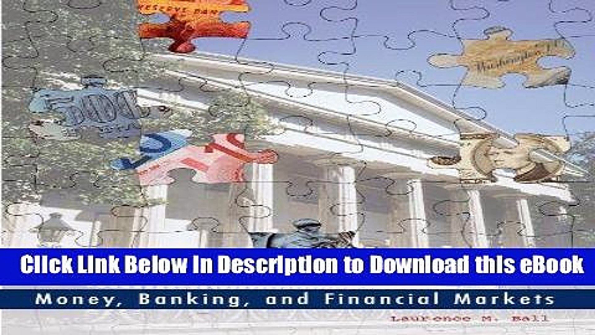 eBook Free Money, Banking, and Financial Markets Free Online