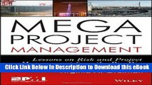 EBOOK ONLINE Megaproject Management: Lessons on Risk and Project Management from the Big Dig
