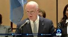 De mistura hopes Syria peace talks will lead to peace