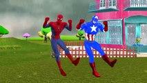Congelados Dedo De La Familia Rimas De Cuarto De Niños   Spiderman Dibujos Animados De Ruedas En El Autobús Baa Baa Black S