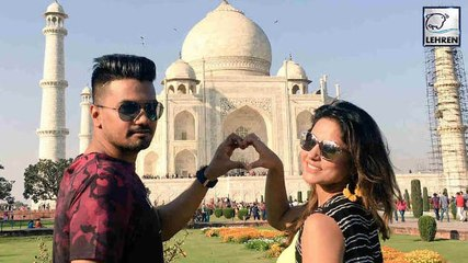 Hina Khan's ROMANTIC Vacation With Boyfriend Rocky | Inside Pictures