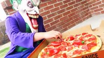 CRYING BABIES Pizza FUN Superman Makes Gross Awesome PIZZA Superheroes in Real Life CRYING
