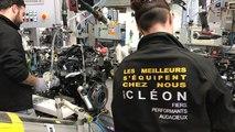 François Hollande à Renault Cléon