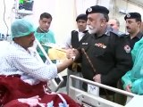 IG KPK Nasir Durrani Visits Injured Peoples In Hospital