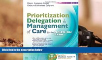 Popular Book  Prioritization, Delegation,   Management of Care for the NCLEX-RN® Exam  For Online