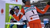 Un parcours compliqué pour le skieur de fond Adrian Solano