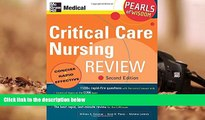 PDF [Download]  Critical Care Nursing Review: Pearls of Wisdom, Second Edition  For Online