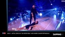 """Artus, dans """"un jeu incroyable"""" pour sa danse avec Marie-Claude Pietragalla"""