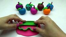 Plastilina Manzanas Cara Sonriente con Hello Kitty Moldes Creativas y Divertidas para los Niños