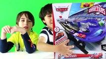Micro Drifters Cars 2 Track Transforming Raceway Disney Cars Microdrifters Fast Flip Speed