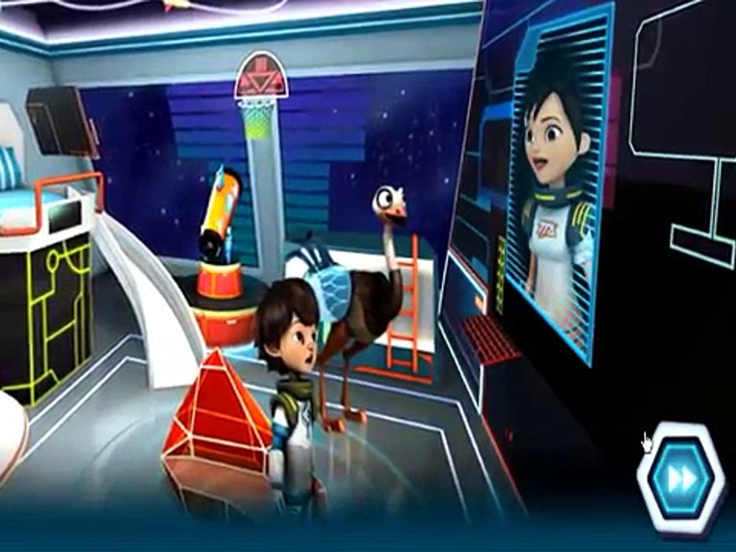 Miles from Tomorrowland Mars Rover Rescue Disney Junior Games GAMEPLAY VİDEO