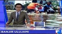 Sungai Pesanggrahan Meluap, Pemukiman Warga Terendam Banjir