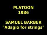 """SAMUEL BARBER  """"Adagio for strings"""""""