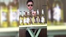 Il boit 6 bières en même temps