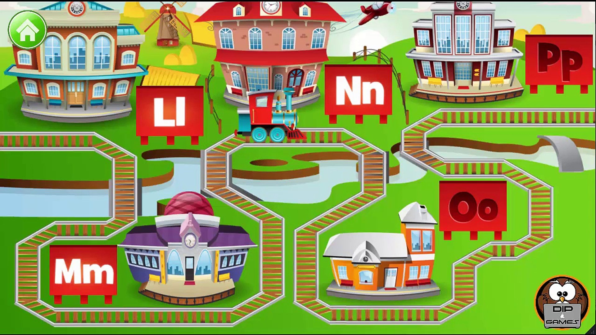 Kids ABC Letter Trains Educational Education Preschool Learning kids ages 2-7 #1