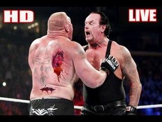 WWE - Undertaker vs Brock Lesner Most Dangerous Match HD 2017