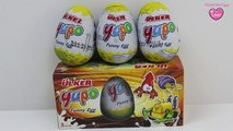 SURPRISE EGGS Kinder Joy / Kinder Surprise Eggs ♥ Disney Surprise Eggs - Zaini Surprise Eg