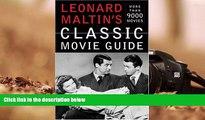BEST PDF  Leonard Maltin s Classic Movie Guide Leonard Maltin [DOWNLOAD] ONLINE