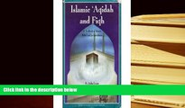 PDF [FREE] DOWNLOAD  Islamic aqidah and fiqh: A textbook of Islamic belief and jurisprudence