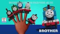 Thomas and Friends Cartoon Finger Family Nursery Rhyme | Thomas & Friends Daddy Finger Family Songs