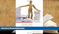 PDF [FREE] DOWNLOAD  More Than You Wanted to Know: The Failure of Mandated Disclosure BOOK ONLINE