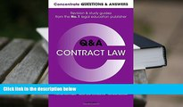 PDF [FREE] DOWNLOAD  Concentrate Questions and Answers Contract Law: Law Q A Revision and Study