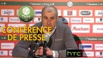 Conférence de presse RC Lens - Valenciennes FC (2-0) : Alain  CASANOVA (RCL) - Faruk HADZIBEGIC (VAFC) - 2016/2017