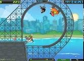 La pelcula de dibujos animados para niños pro portable de la Colisión y el accidente de los coches en la carrera loca Juego de Demolition