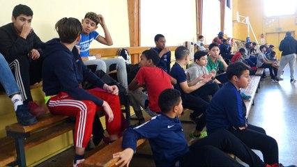 tournoi futsal service jeunesse des LIlas février 2017