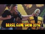 BGS BRASIL GAME SHOW 2016 PARTE 1 - Evolução do videogame, Tekken 7, coleção Resident Evil