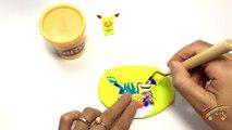 Peppa Pig & Play doh frozen! - Create ice cream rainbow with playdoh clay toys v2