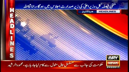 Headlines 2300 24th February 2017