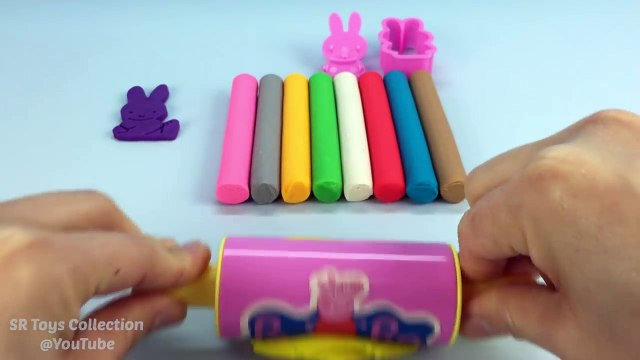 Play Doh Modelling Clay with Miffy Cookie Cutters - Fun Creative for Kids