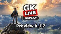 The Legend of Zelda : Breath of the Wild - GK (pas) Live Preview