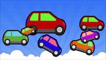 Aprender los Colores con la Pata de la Patrulla y Blaze Monstruo Máquinas de Juguetes 2D Camiones de Colores y los Niños Chil