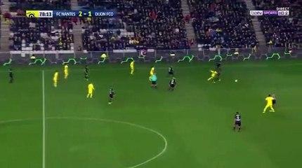 Felipe Pardo Fantastic Goal HD - Nantes 3-1 Dijon 24.02.2017