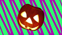 five scary pumpkins jumping on the bed | halloween song | nursery rhymes | childrens rhyme