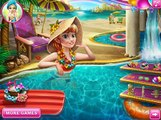 Anna Pool Celebration - Disney princess Frozen - Best Baby Games For Girls