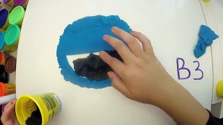Play Doh Cookie Monster Letter Lunch Learn To Read ABC Alpha