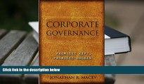 BEST PDF  Corporate Governance: Promises Kept, Promises Broken FOR IPAD