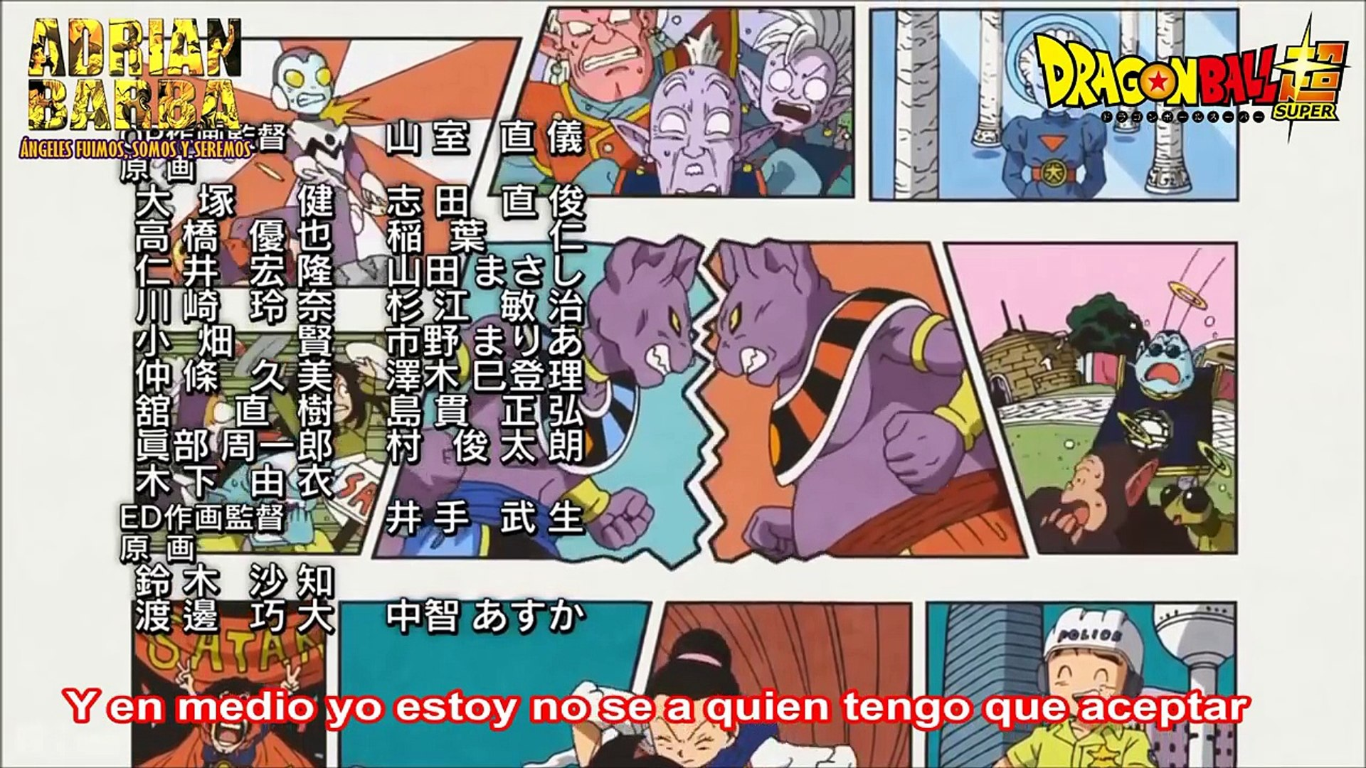 Dragon Ball Super - Ángeles y Demonios (Ending 5 Cover en Español Latino)