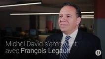 Michel David s'entretient avec François Legault
