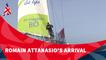 D109 : Romain Attanasio's arrival / Vendée Globe