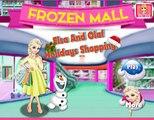 El juego de Compras de Vacaciones de Elsa y Olaf Jugar Juegos de Compras para las Fiestas de Elsa y Olaf