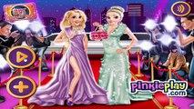 La Princesa de Disney Juegos BFF Celebridad de la Noche de Rapunzel y Elsa, Juego de Vestir para niños Niñas