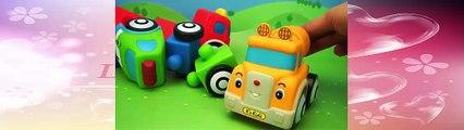 Trucks for children, Crane for children, Tow trucks for children, Cement trucks for kids