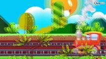 Trenes Para Niños - Caricaturas de Trenes - Dibujos Animados Educativos - Trenes infantiles