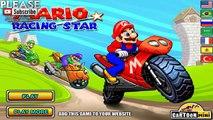 Bicicleta De Carreras Juegos | Juegos Para Niños | Carreras | Super Mario Moto Juegos De Carreras